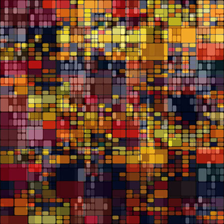 art abstract colorful geometric seamless pattern; tiled background in gold, red, orange and brown colors photo