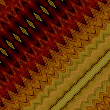 art abstract geometric diagonal pattern background in orange, red and gold colors photo