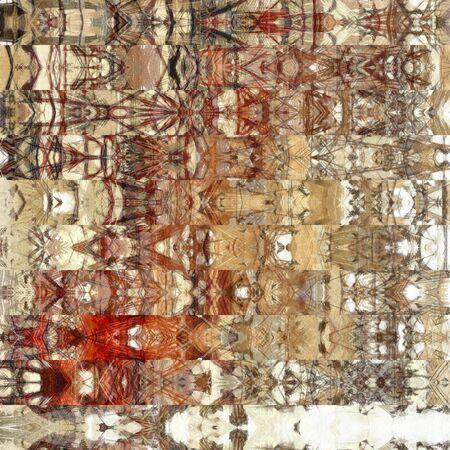 arte abstracto: el arte abstracto geom�trico patr�n de rayas horizontales de fondo en colores blanco, gris, beige y marr�n