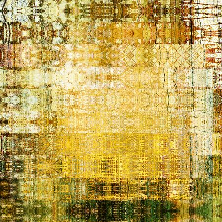 gold brown: art abstract geometric horizontal stripes pattern background in gold, brown and black colors
