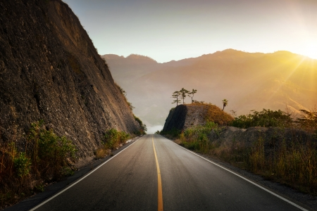 Highland Highway in Central America