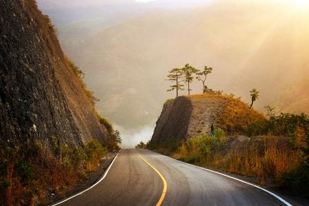 Highland Highway in Central America Banco de Imagens - 20418270