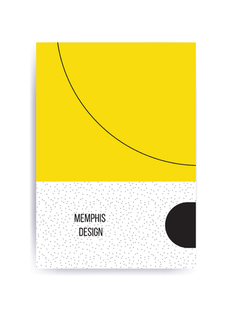 squiggles: Colorful trend Neo Memphis geometric pattern juxtaposed with bright bold blocks of color zig zags, squiggles, erratic images. Design background elements composition. Magazine, leaflet, billboard