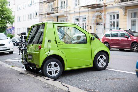 Elektrische auto laadstation in Oslo