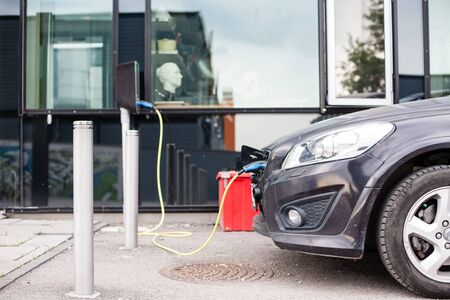 Oplaadpunt voor elektrische auto's in Oslo