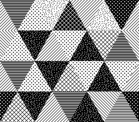 grid pattern: Vector Seamless Pattern. Abstract Geometric