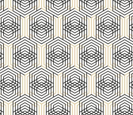 Vector seamless geometric pattern.