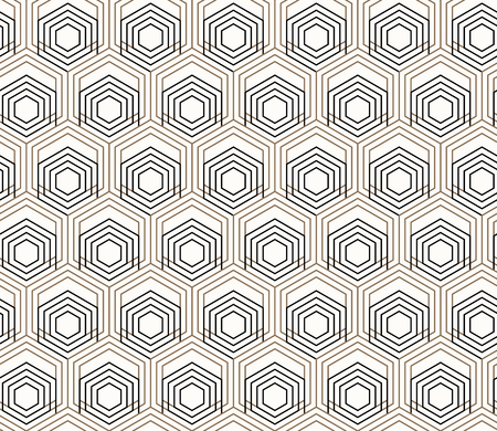 Vector seamless geometric pattern. Small images on repetitive pattern