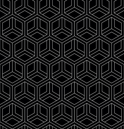 Vector seamless geometric pattern. Classic Chinese ancient fully editable ornament 일러스트