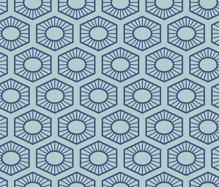 Vector seamless geometric pattern. Classic Chinese ancient ornament 일러스트