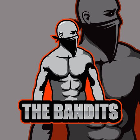 The Bandits Mascot Esport  Design
