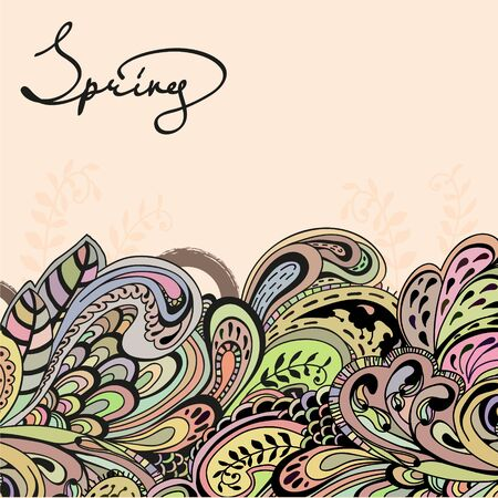 abstract background: Abstract spring background