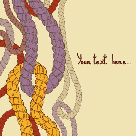 abstract background: Abstract rope background