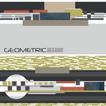 geometric background Ilustrace