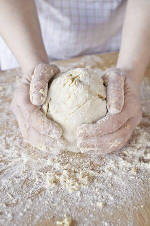 Dough home made photo