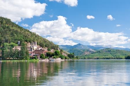 terni day: Piediluco lake, Terni, Umbria, Italy