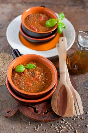 lentilha: Sopa de lentilha