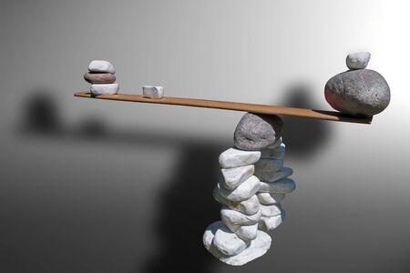 gravedad: juego de rocas de �pice de control y pesos de gravedad