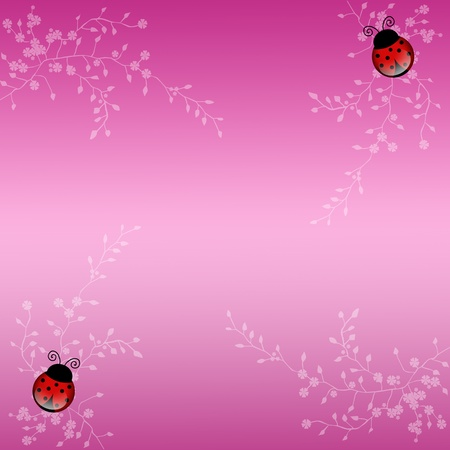 Ladybug background photo