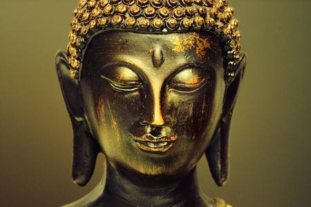 Buddha statuette Stock Photo