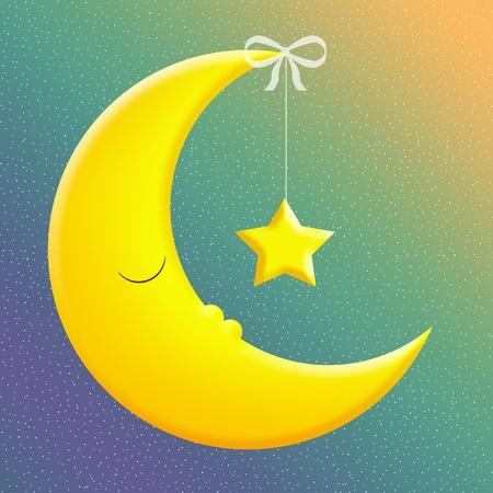 bonsoir: Bonne nuit Banque d'images