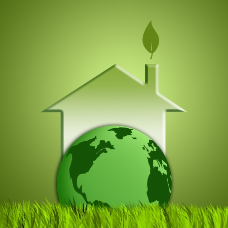 green background for ecology