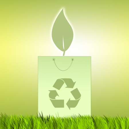 Recycle for environment photo