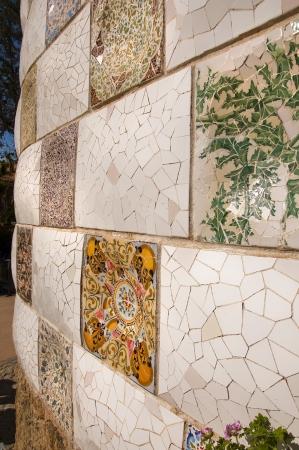 Gaudì Parc Guell mosaico