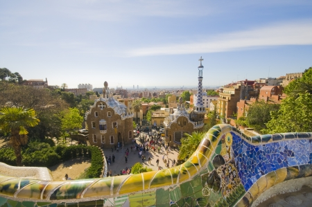 Gaud� Parc Guell in Barcelona