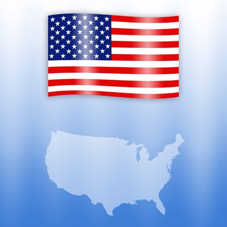 flag of United States photo