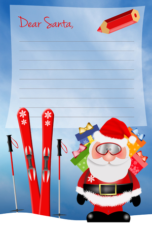 Dear Santa Claus photo