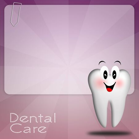 correction: Dental care with tooth Stock Photo
