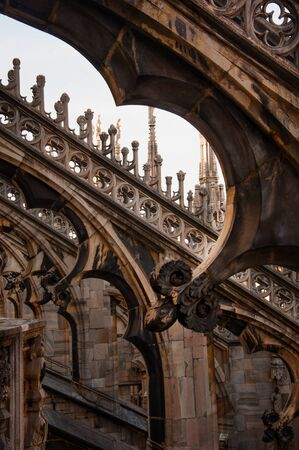buttresses: Duomo of Milan