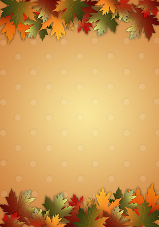 thanksgiving day: autumnal background Stock Photo