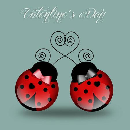 Ladybug in love