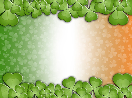 saint paddy's: clovers for St  Patricks Day