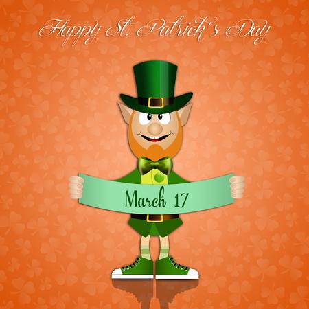 saint paddy's: Irish man in St  Patricks Day