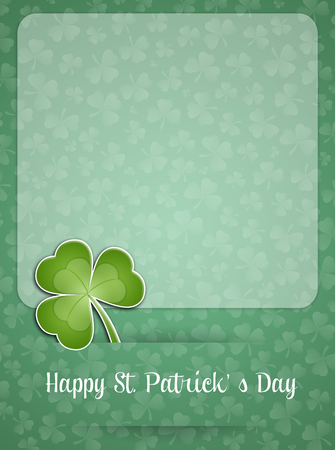 saint paddy's: Clover for St  Patricks Day Stock Photo