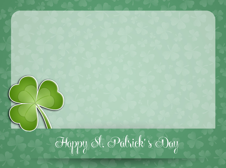saint paddy's: Clover for St  Patrick Stock Photo
