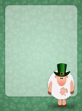 st paddy s day: sheep for St  Patrick