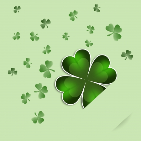 paddys: Clovers for St  Paddys Day