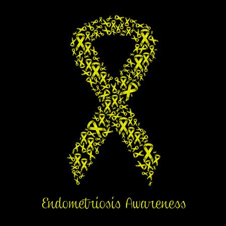 endometrium: Endometriosis awareness Stock Photo