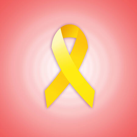 yellow ribbon: Yellow ribbon for Endometriosis