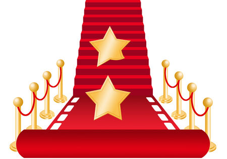 Star on Red carpet for Oscars award