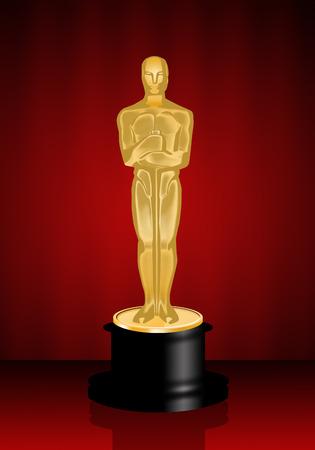 star award: Oscars statuette