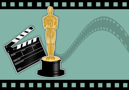 Oscars award Stock Photo