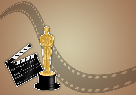 Oscars award Stock Photo