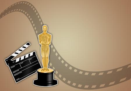Premio Oscar Foto de archivo - 25888761