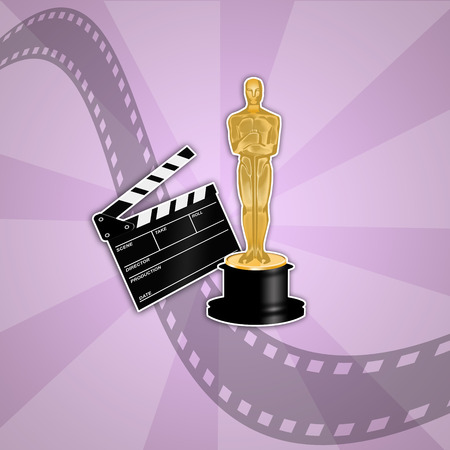 statuette: Oscars award Stock Photo