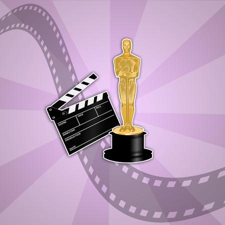 oscars: Oscars award Stock Photo